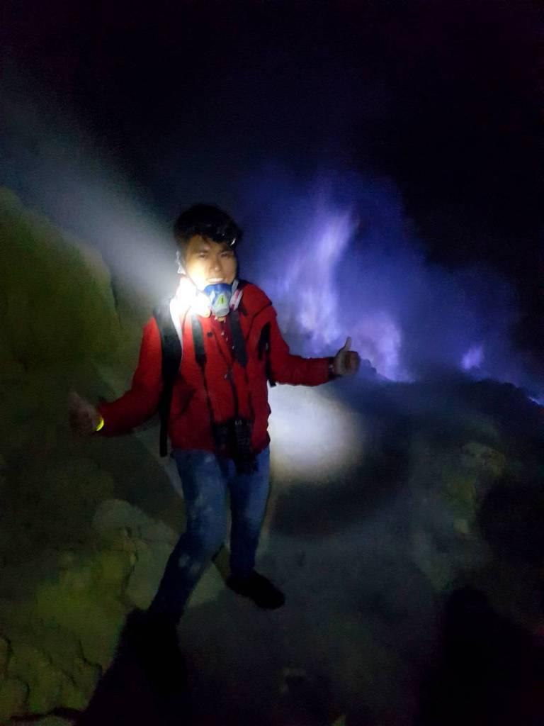 Kawah Ijen Blue Flame
