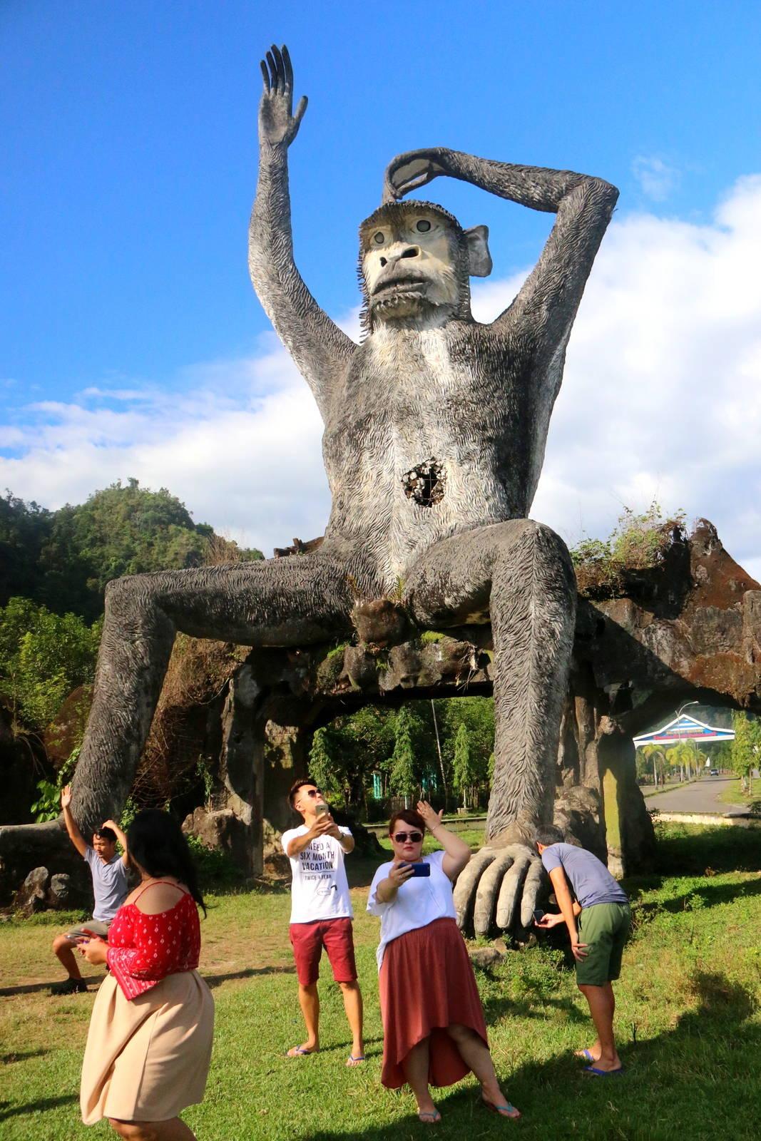 Bantimurung Big Monkey