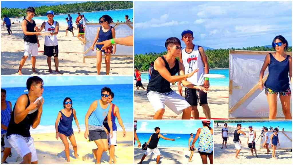 Dahican Beach Frisbee