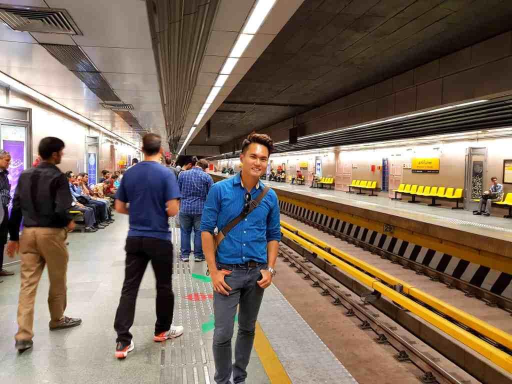 Tehran Train Subway