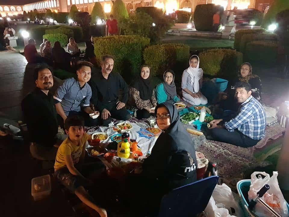 Isfahan, Iran Picnic