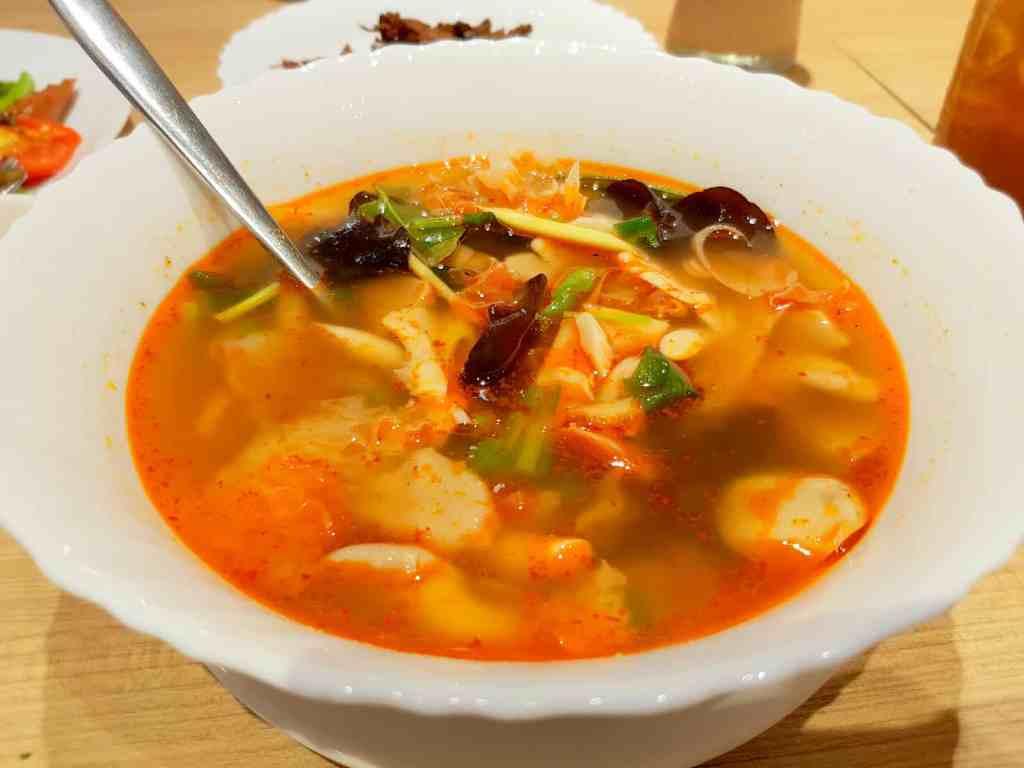 Vegetarian Thai Tom Yum Soup
