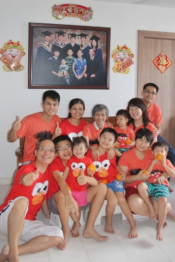 Keith Yuen's Family