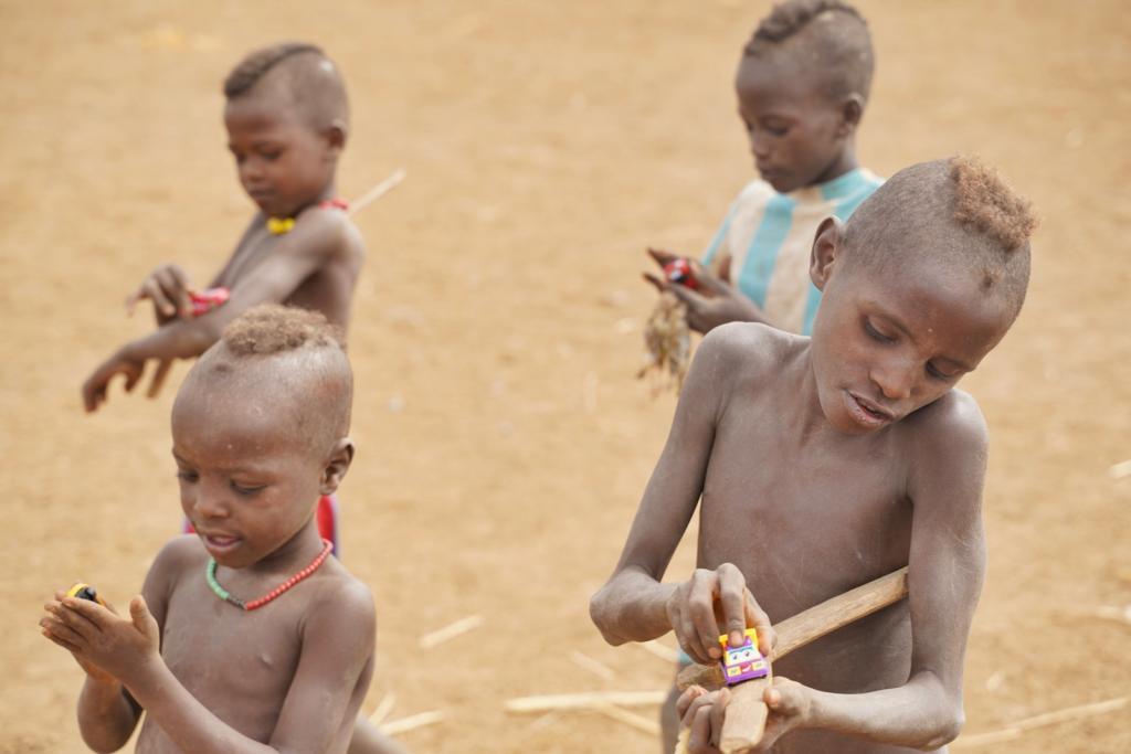 Ethiopia Tribe Dassanech Tribe Children