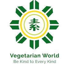 Vegetarian World Logo