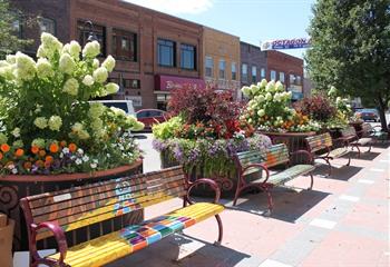 Main Street Cultural District Ames Iowa