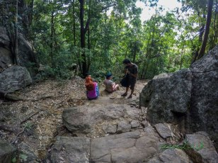 Cesta na Pidurangala Rock
