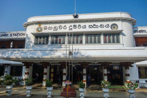Stanica v Kandy
