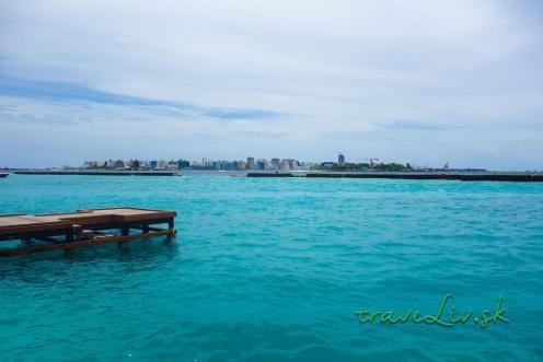 Maldives Airport view Male