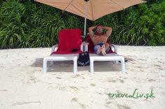 Bikini pláž na Ukulhas