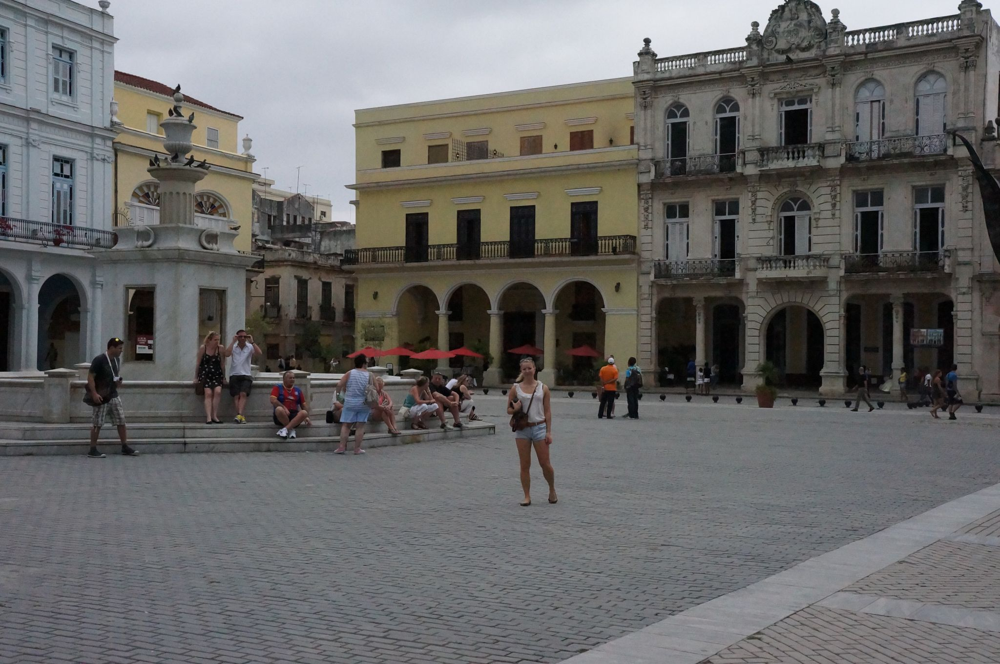 Picture of Travel Jael in Plaza Vieja in Old Havana, Cuba
