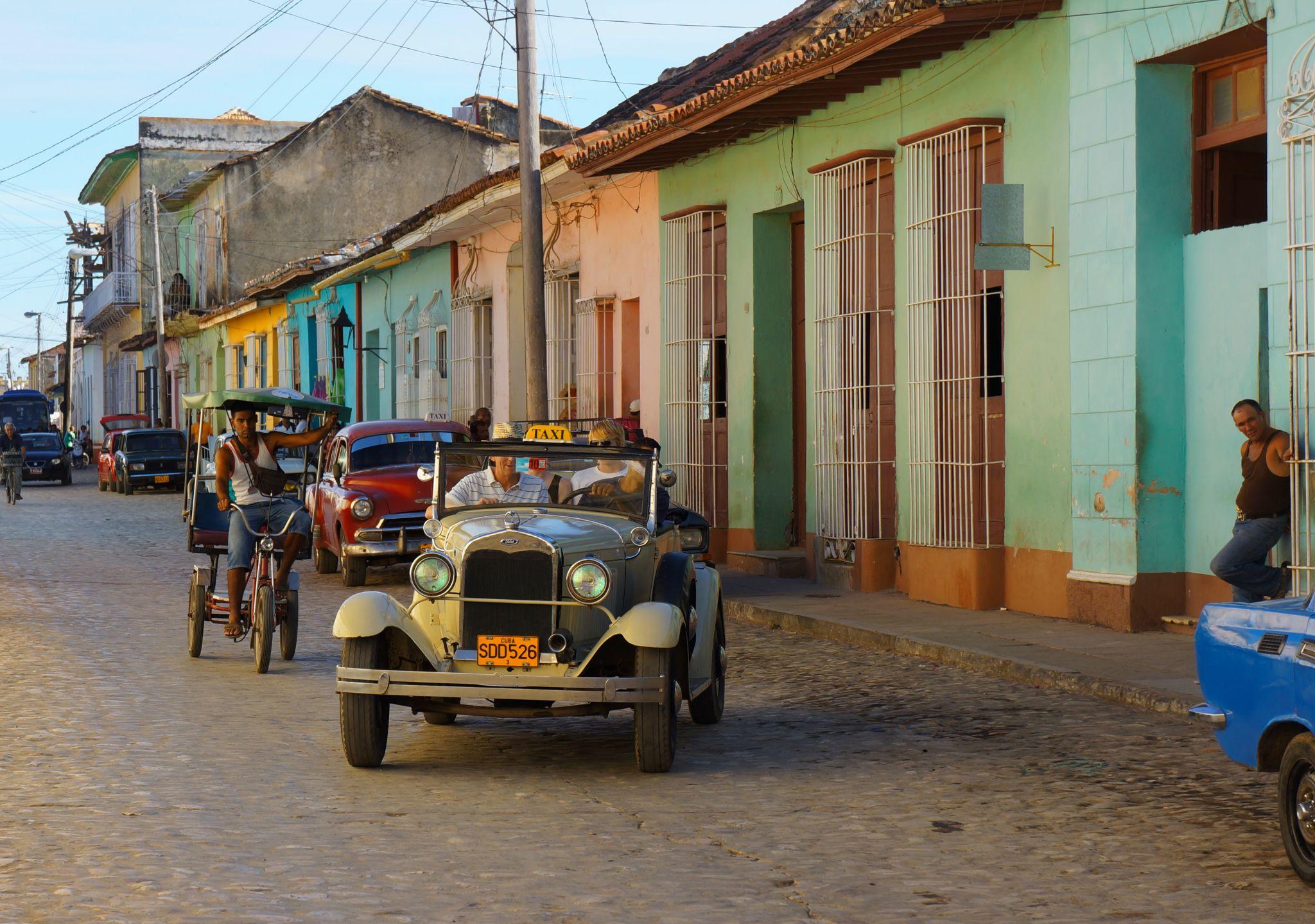 Streets of Colonial Trinidad, Cuba.