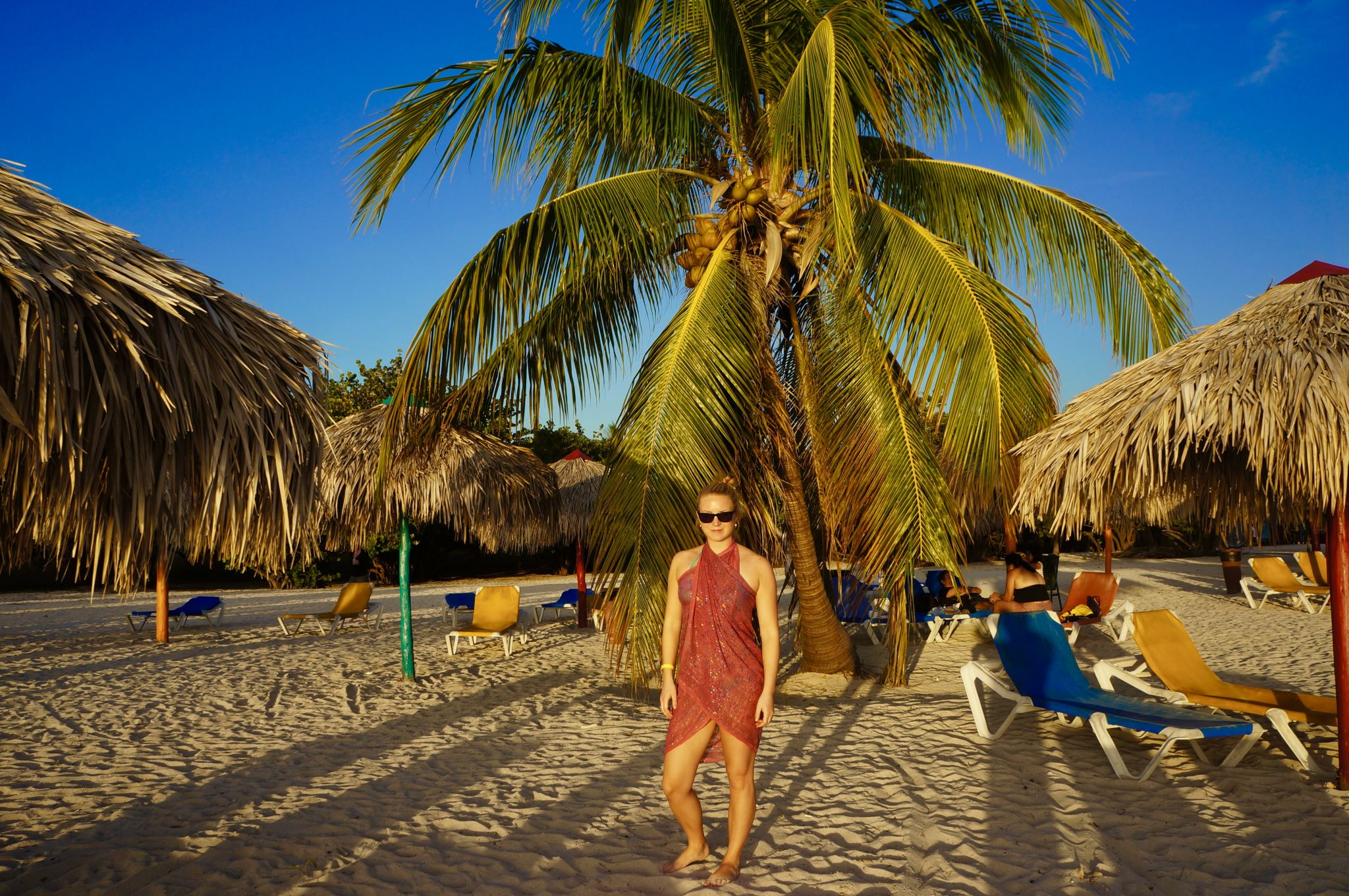Travel Jael enjoying a sunset in Trinidad, Cuba.