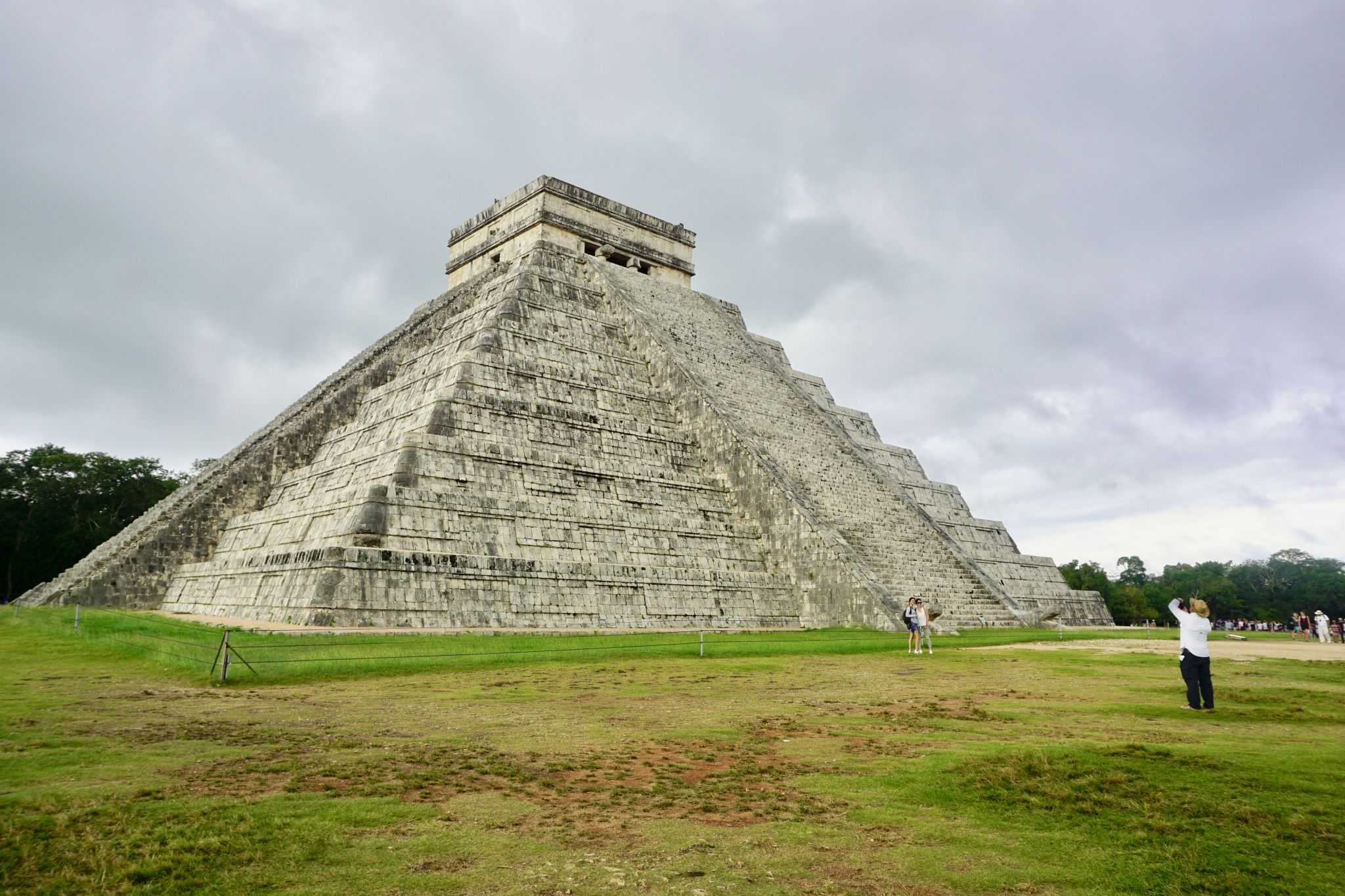 The Temple of Kukulkan is the symbol of Chichen Itza