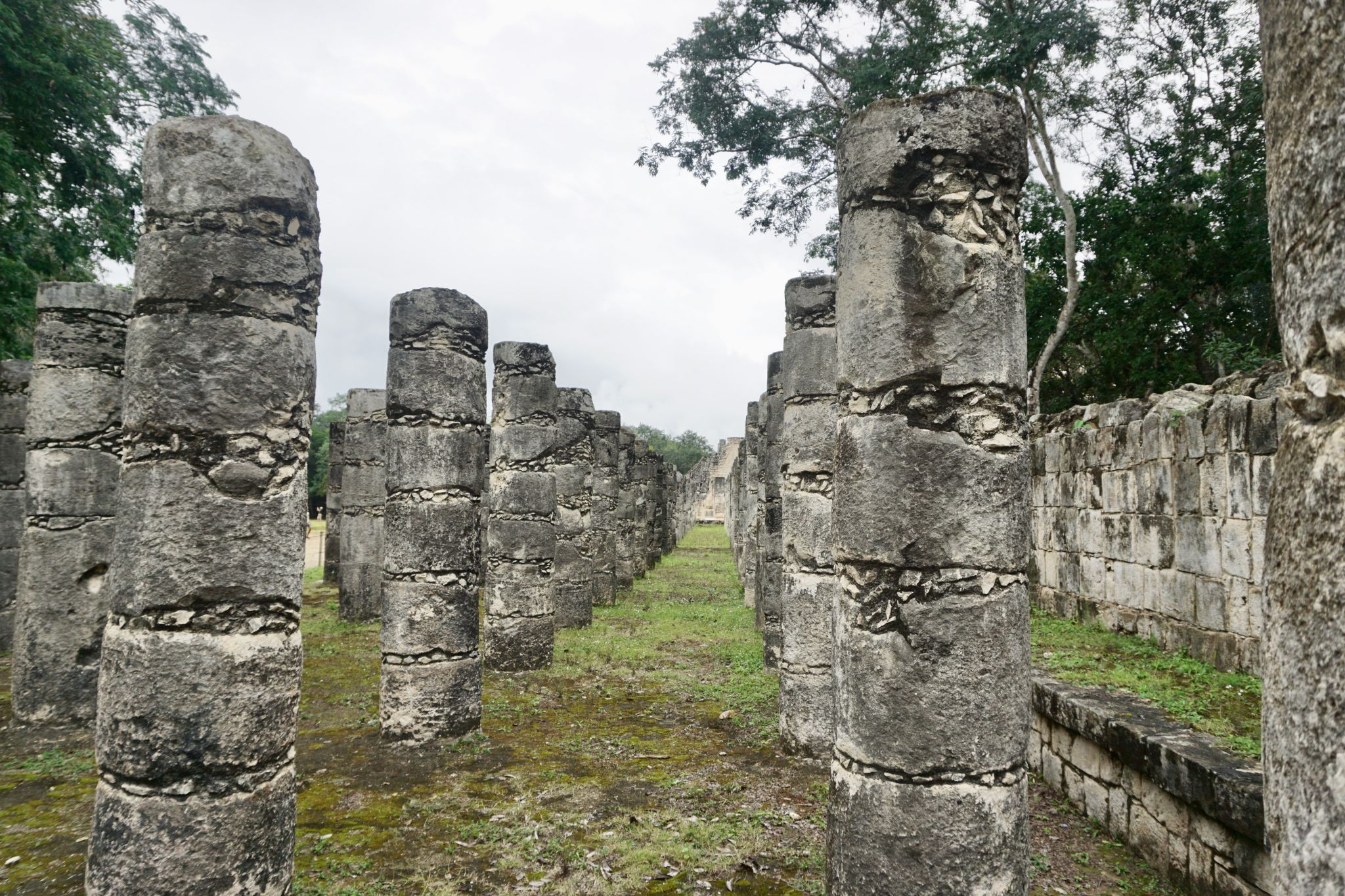 Grupo de las Mil Columnas in Chichen Itzá