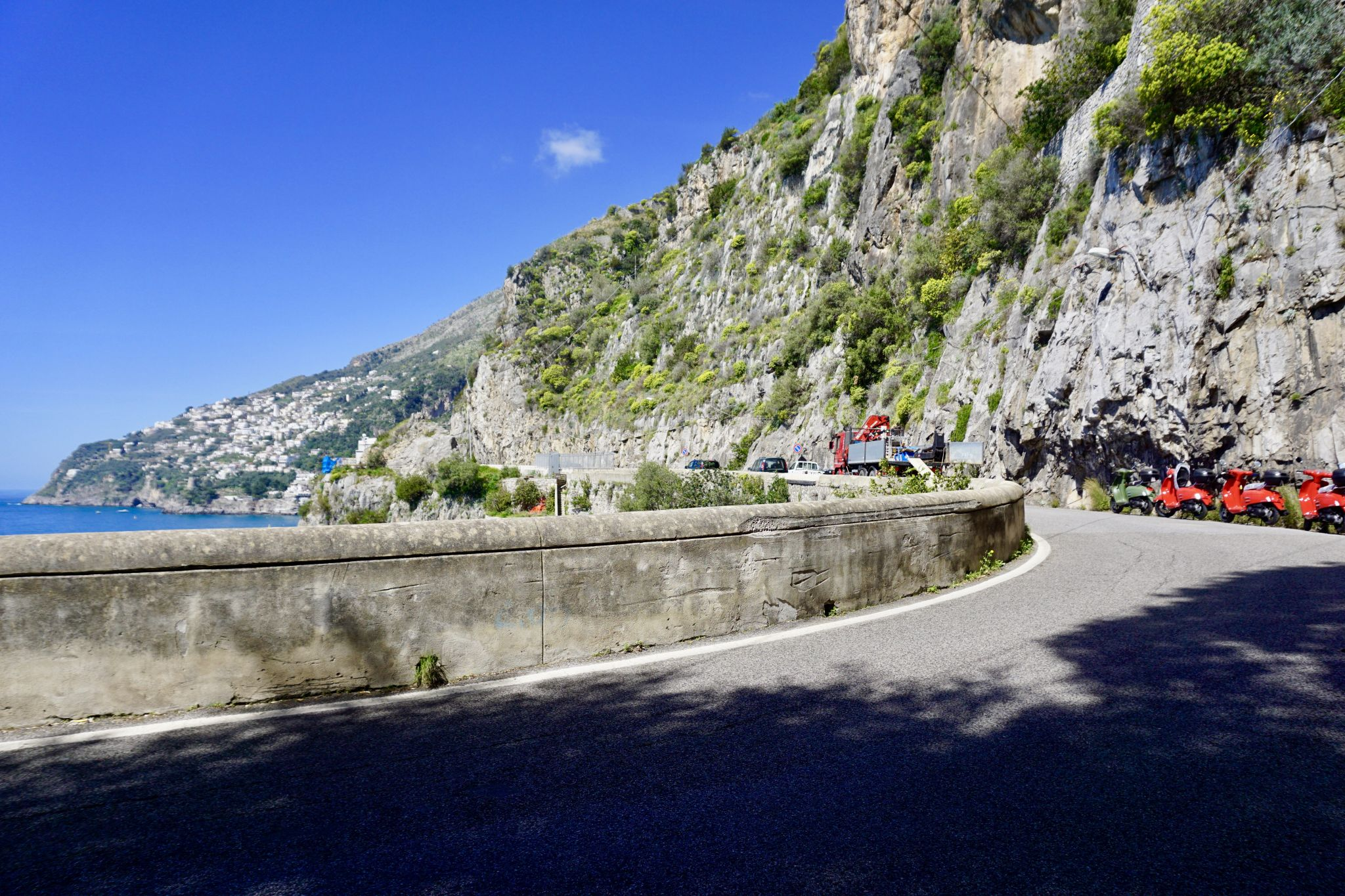 The Amalfi Drive is one of the world's most beautiful routes