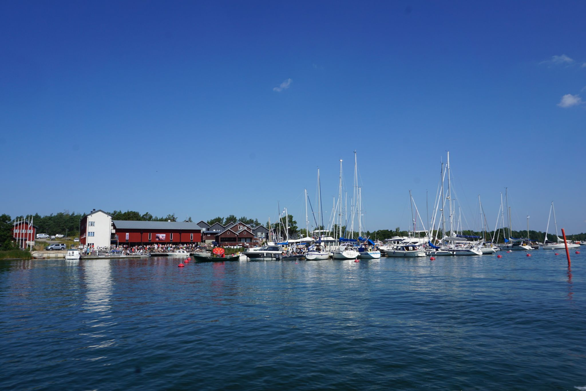 Korpo Sea Jazz and Korpo Runt make for a busy day at Korpoström harbour