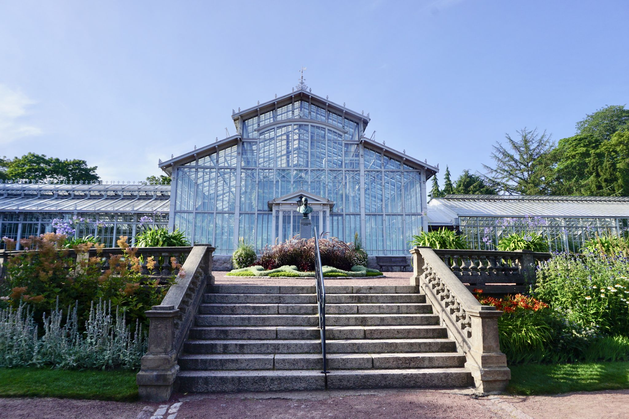 How to visit the Rose Garden by the Winter Garden in Helsinki