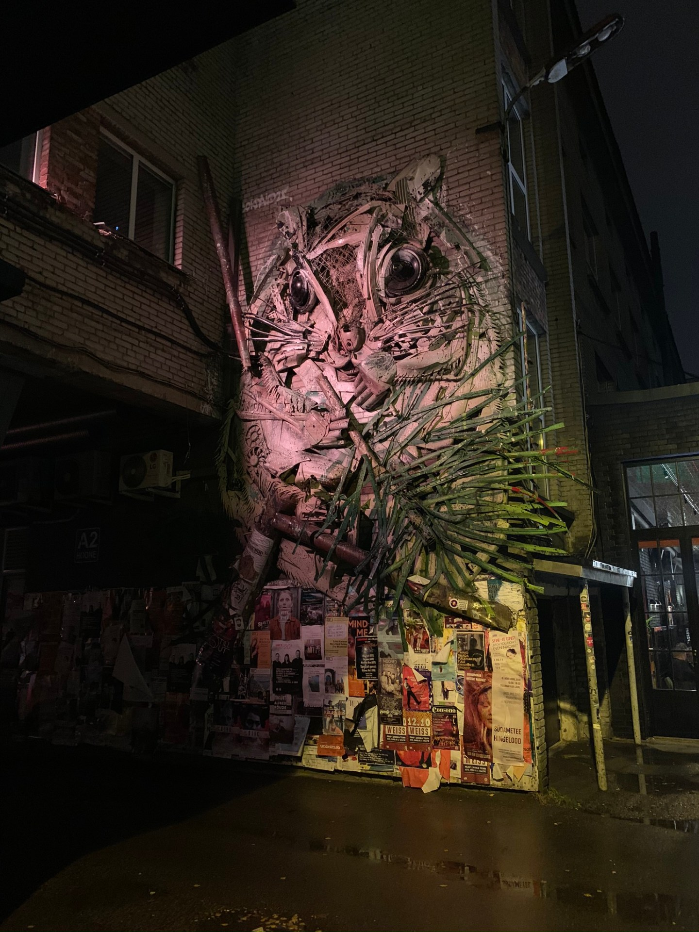 Mural in Trendy Telliskivi