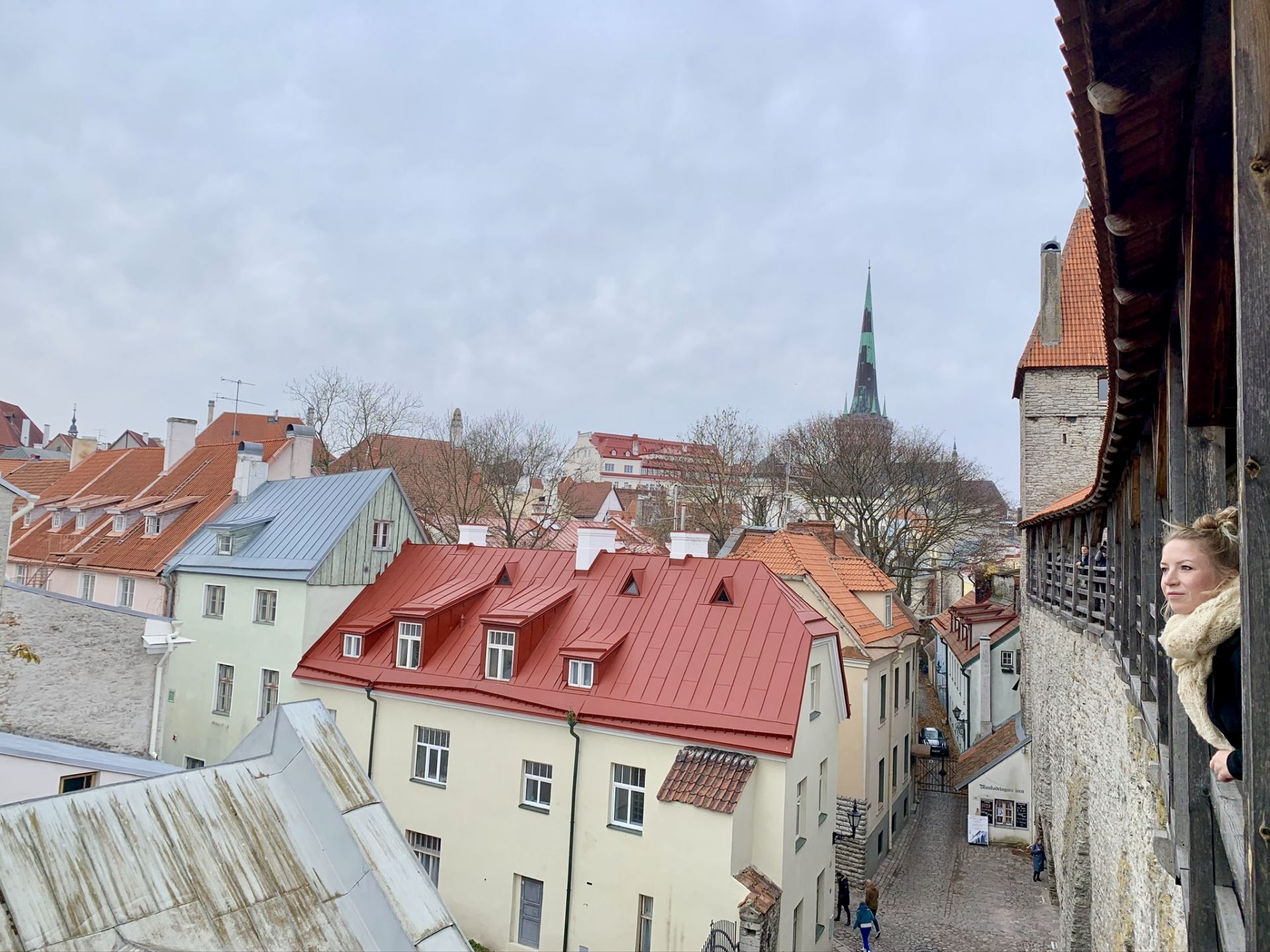 Visiting Hellemann's Tower in Tallinn Old Town