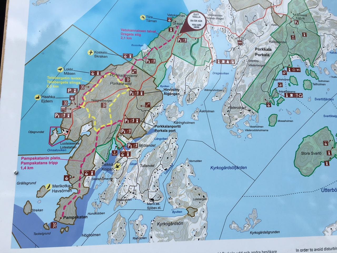 How to get to Porkkala
