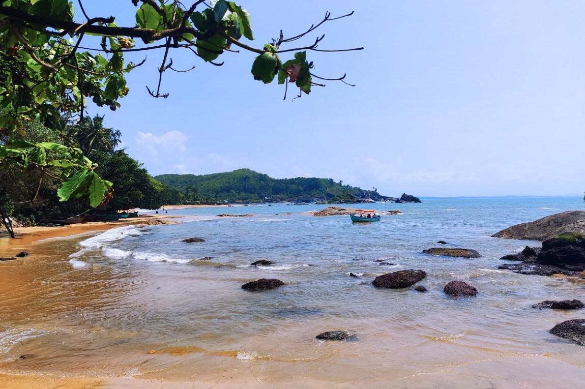 Om beach Gokarna by Travel Jaunts