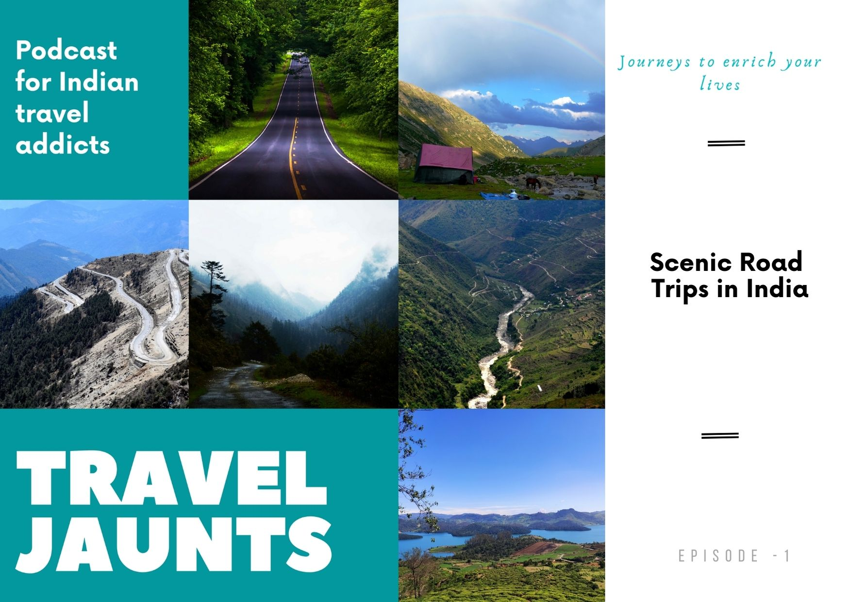 Best Scenic Road Trips India Podcast