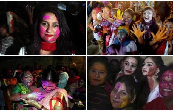 होली 2018: पाकिस्तान से आई तस्वीरें, लाहौर-कराची में खेली गई जमकर होली….