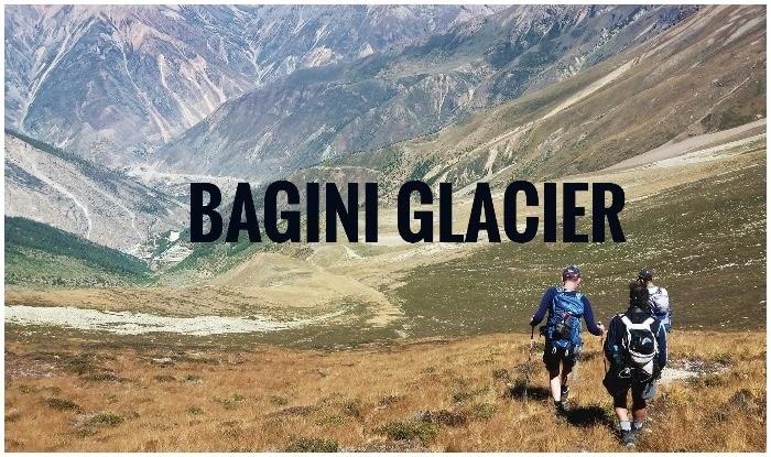 Bagini Glacier Trek, Changbang Base Camp Trek, bagini glacier map, bagini glacier trek difficulty level, bagini glacier trek photo, bagini glacier images