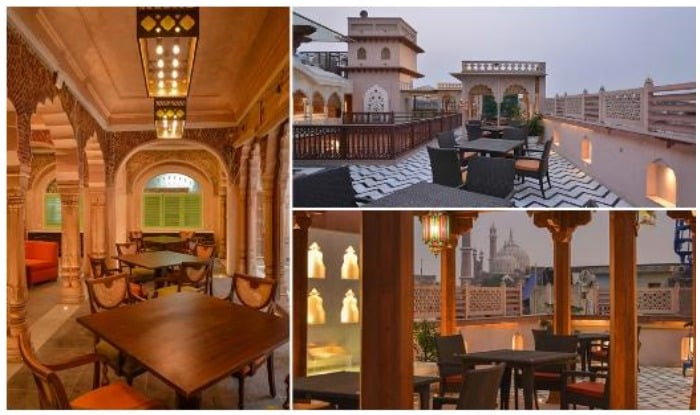 The Haveli of Dharampura, located in Old Delhi