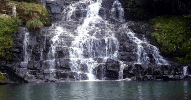 Spread eagle fall Shillong's widest waterfall,