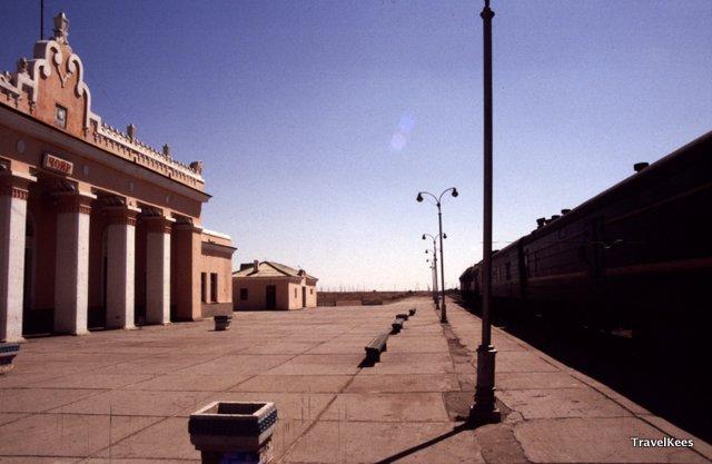treinstation Tsjojr, Mongolië