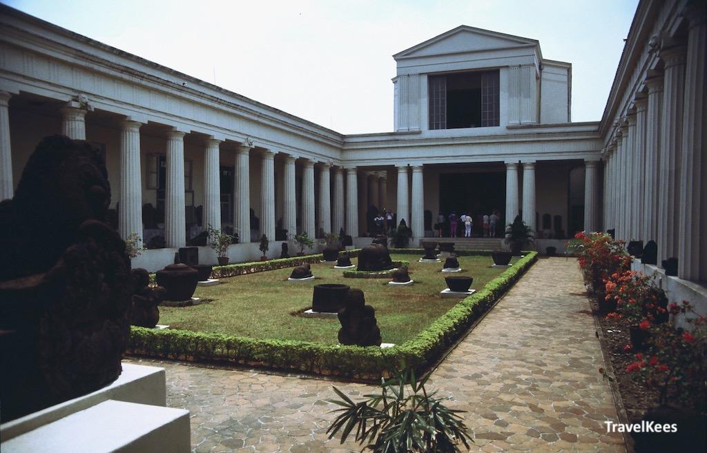 nationaal museum, binnenplaats