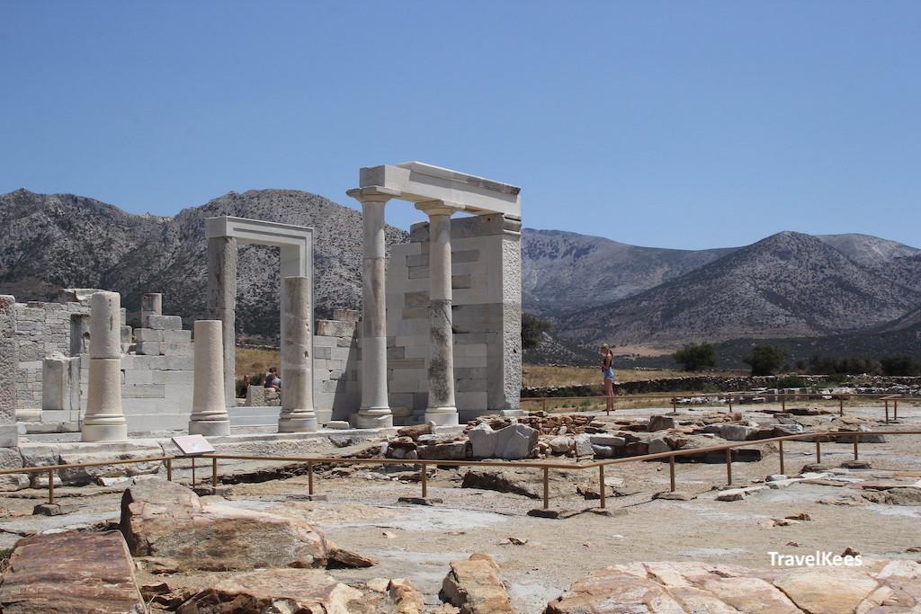 tempel van demeter, naxos