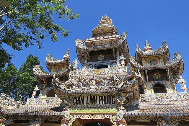 Пагода Линь Фуок Linh Phuoc Pagoda