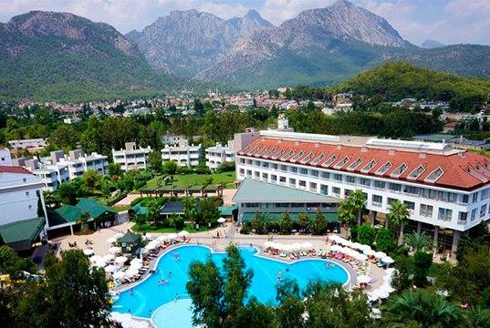 Отель Sherwood Greenwood Resort 4 звезды Кемер Турция