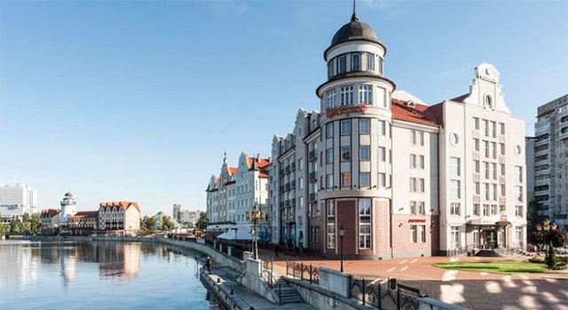 Отели Калининграда в центре города - Отель Кайзерхоф4*