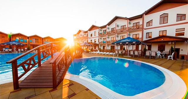 Отели Анапы все включено с бассейном
