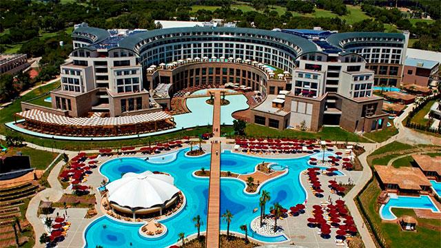Отель Kaya Palazzo Golf Resort 5 звезд Белек Турция