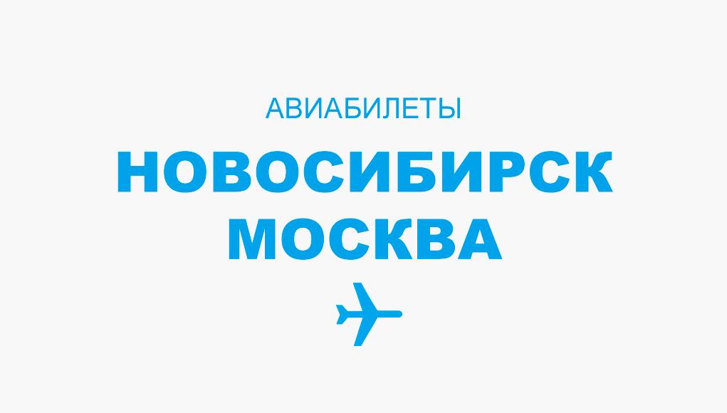 Авиабилеты Новосибирск - Москва прямой рейс, расписание, цена