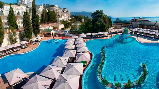 Отель Пальмира Палас 4* Ялта, Крым
