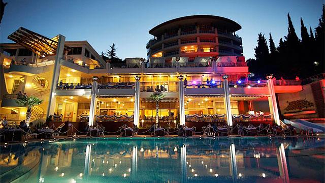 Wellness SPA Отель Море 4* Алушта, Крым