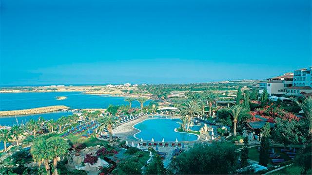 Отель Coral Beach Hotel & Resort Cyprus 5* Коралловый залив, Кипр