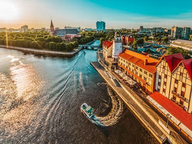 Экскурсия: Сердце Кёнигсберга: пешком и на кораблике