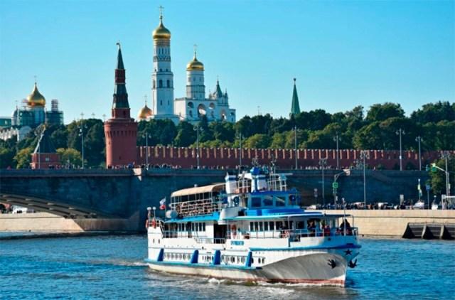 Прогулка на теплоходе от «Москва-Сити» до парка «Зарядье»