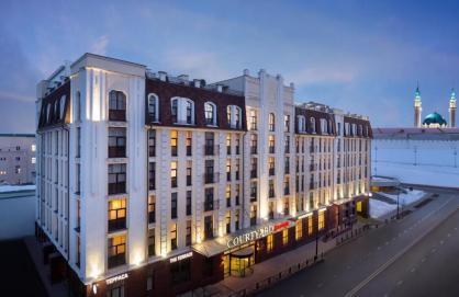 Отель Courtyard by Marriott Kazan Kremlin 4*
