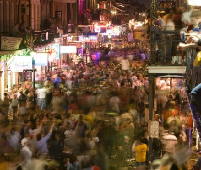Photo Alamy Clubbers Should Head To Bourbon Street New Orleans On New Years Eve Where Its