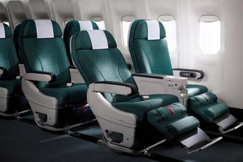 Image result for cathay pacific premium economy