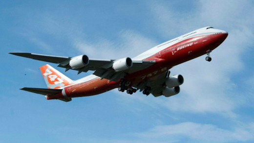 The 747-8 jumbo jet has not been a great seller for Boeing.