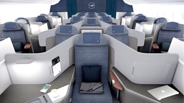 Image result for lufthansa new business class